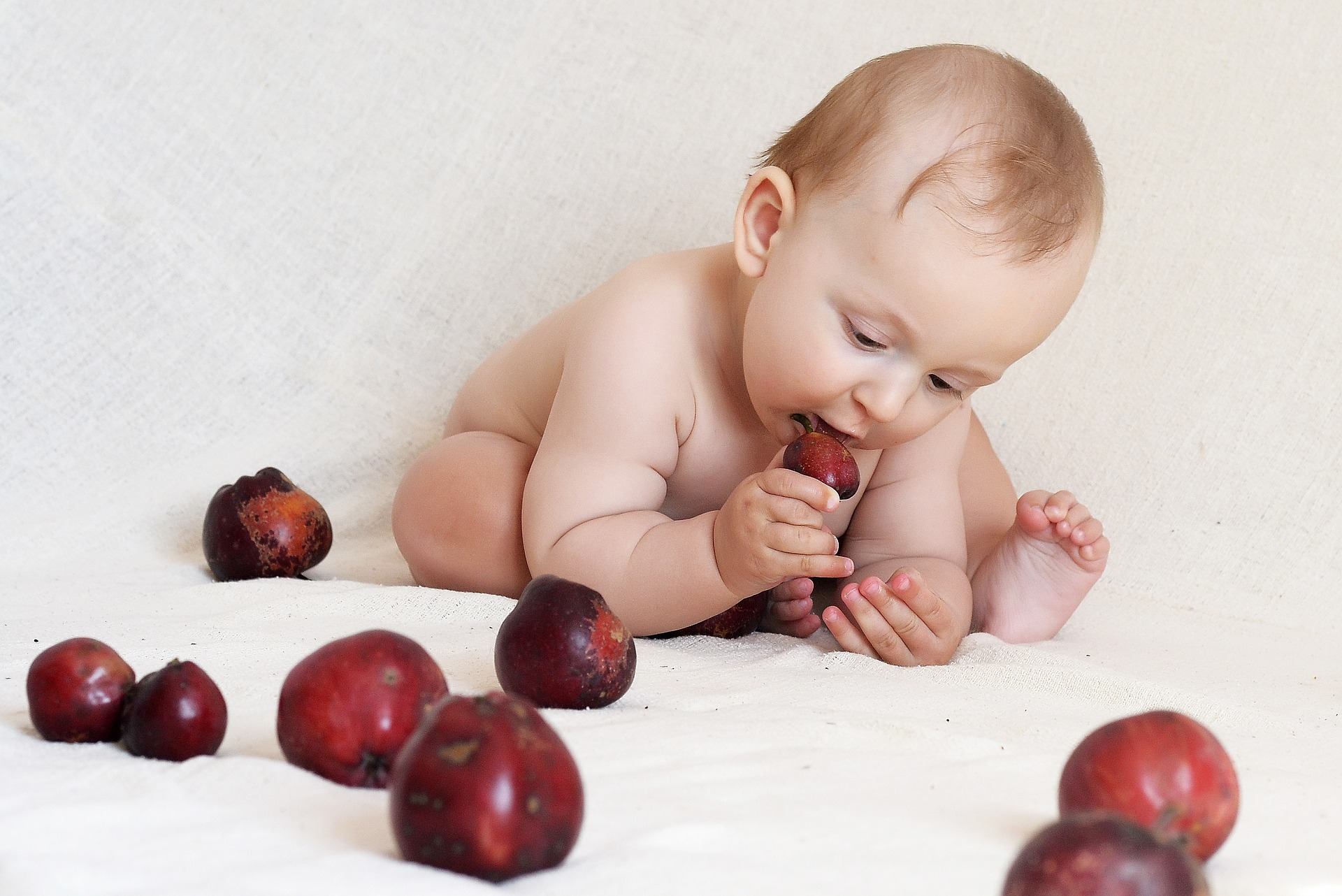 μωρό στερεές τροφές